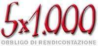 Rendiconto 5 per mille